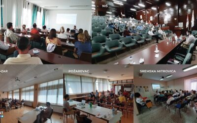 """The company """"Heliant"""" delivered trainings for the application of electronic clinical pathways to healthcare professionals in more than 80 primary healthcare centres"""