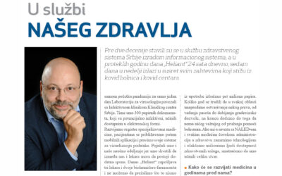 Radulović for CorD magazine: Heliant's goal is to facilitate the use healthcare services to everyone