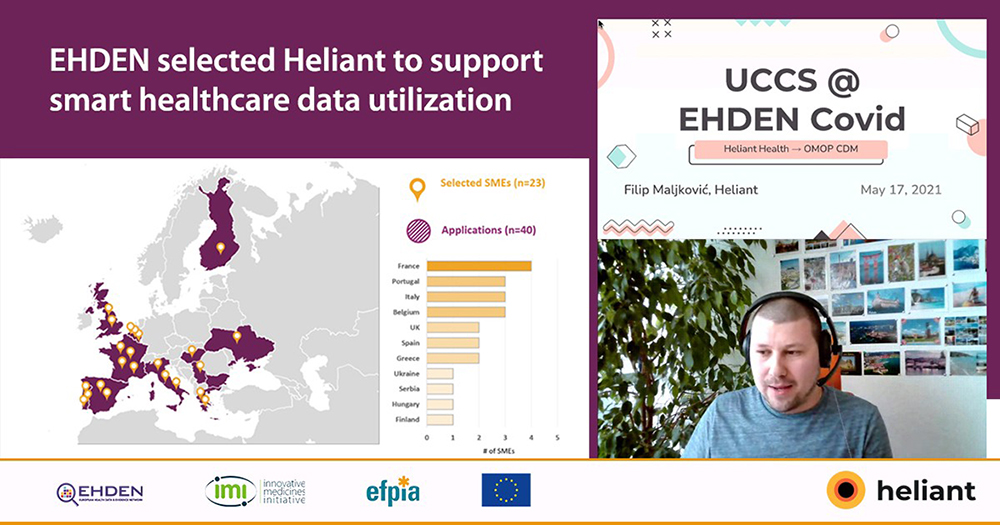 UCC Serbia is a partner in the EHDEN (European Health Data Evidence Network) project that networks healthcare facilities in Europe.