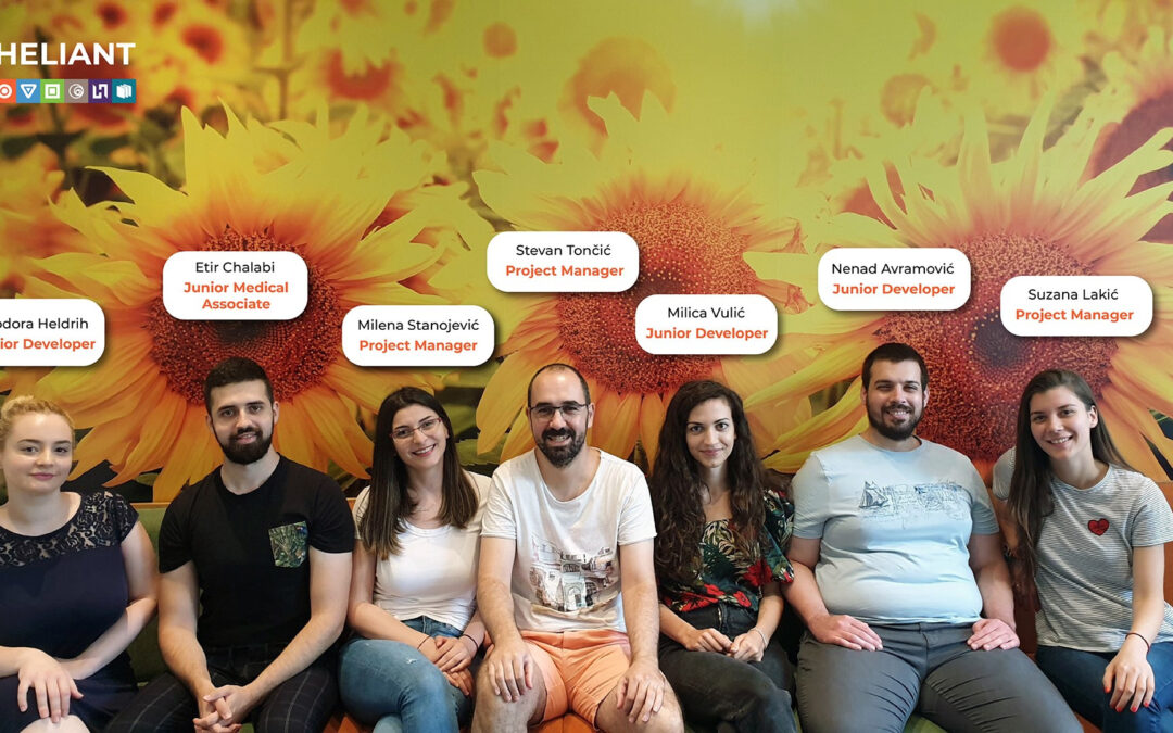 Heliant R&D team continues to grow!